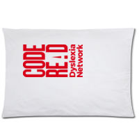 CodeREaD Pillow Case Red Thumbnail